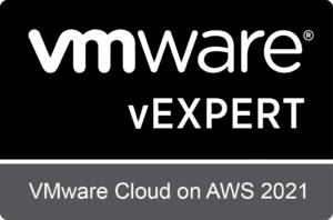 vExpert – VMware Cloud on AWS Subprogram