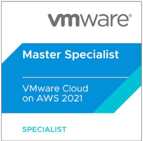 Read more about the article Master Specialist – VMware Cloud on AWS 2021 Certification