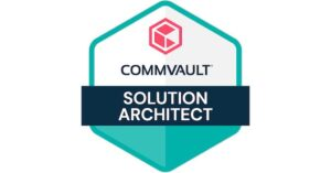 Read more about the article Commvault – Solution Architect Certified